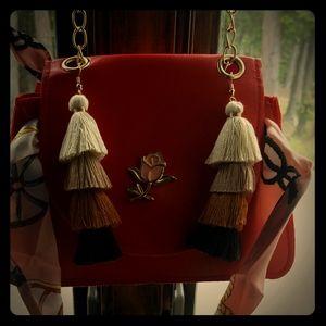 Mini purse and Earrings set